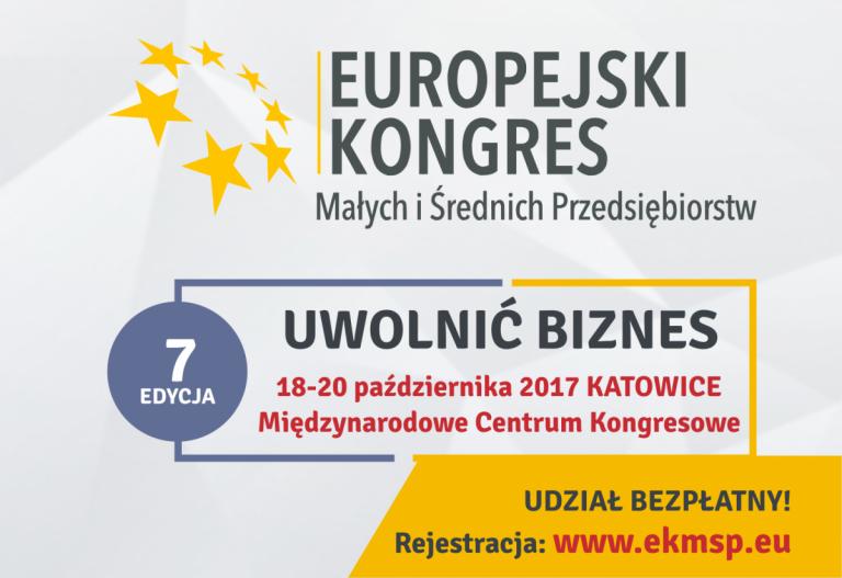 Ekonomia społeczna podczas VII Europejskiego Kongresu Małych iŚrednich Przedsiębiorstw – zapraszamy dorejestracji